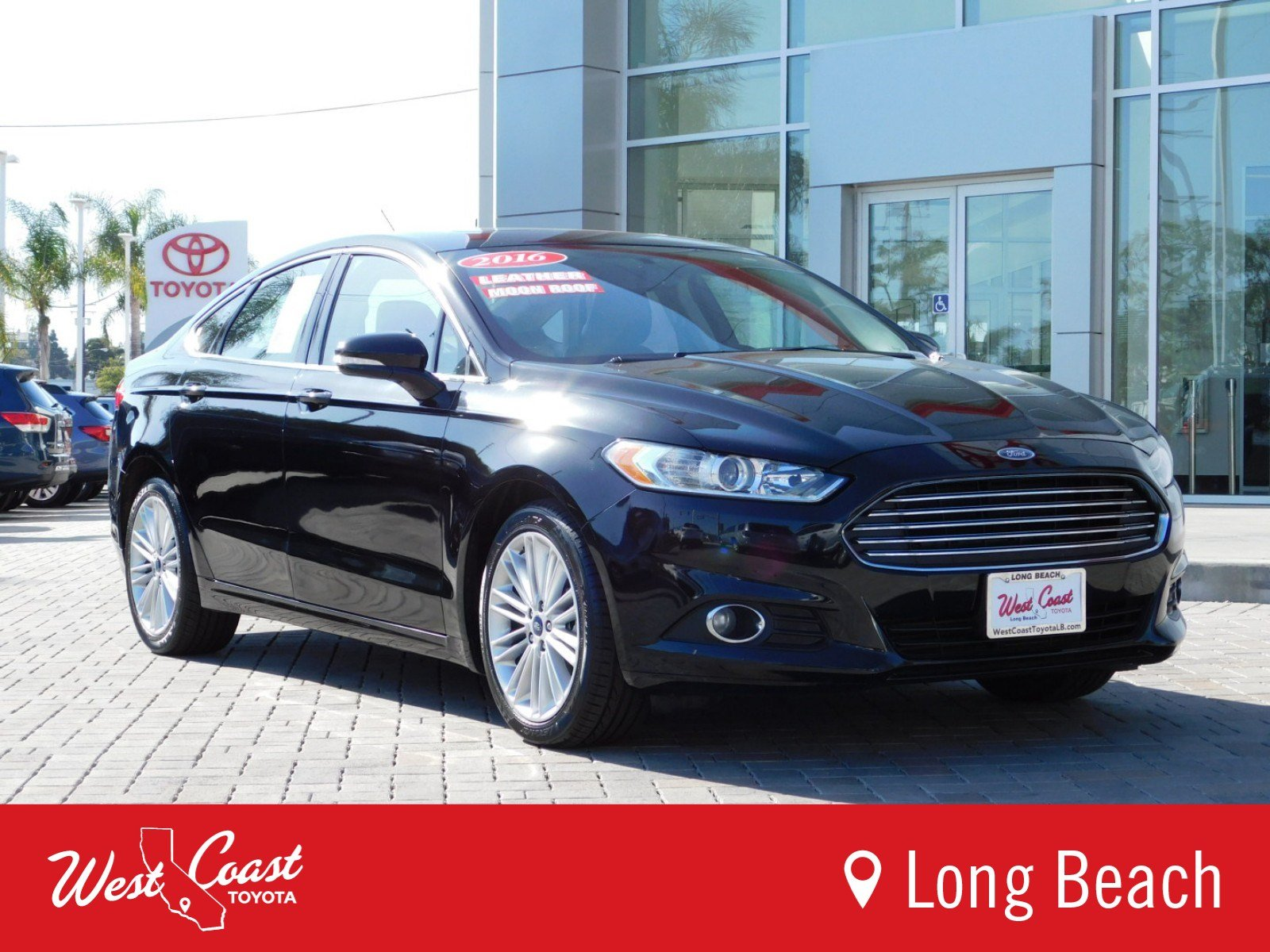 Pre Owned 2016 Ford Fusion SE 4dr Car in Long Beach R