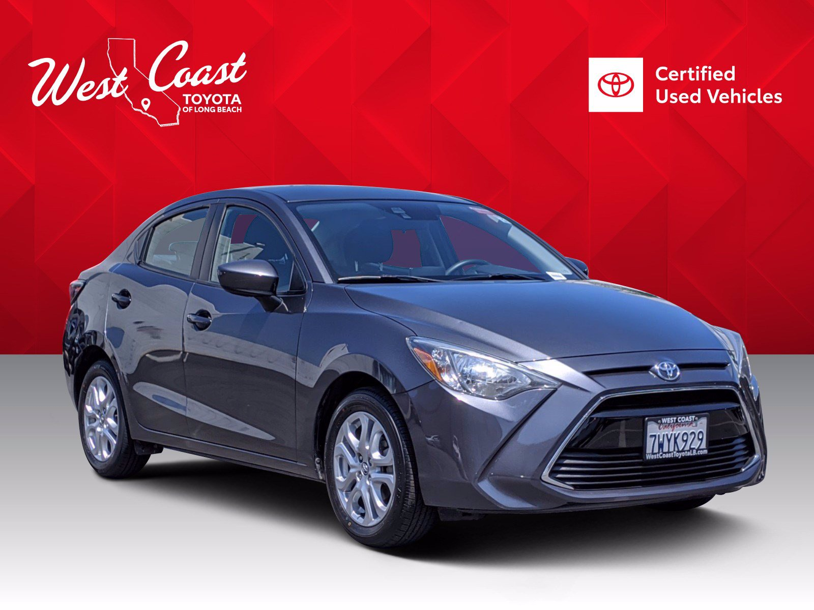 Certified Pre-Owned 2017 Toyota Yaris iA Base