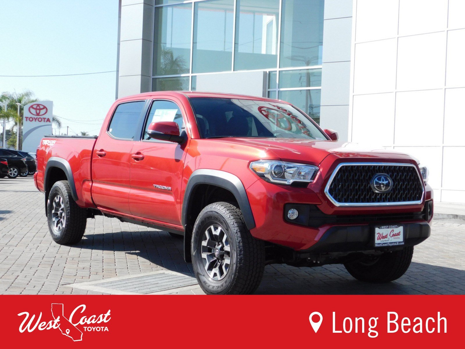 New 2018 Toyota Ta a SR5 Double Cab in Long Beach