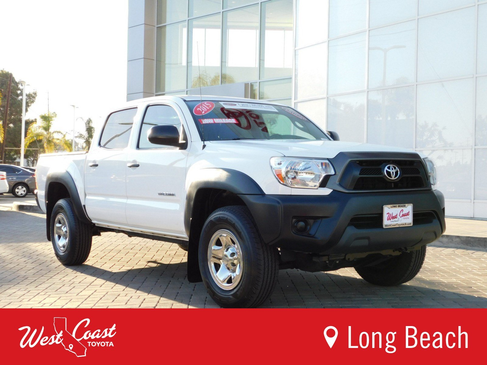 Certified Pre Owned 2015 Toyota Ta a STD Double Cab in Long Beach