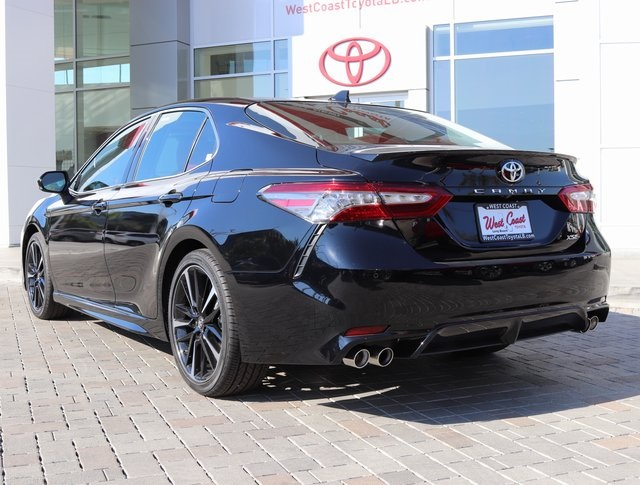 new 2018 toyota camry xse v6 4d sedan in long beach u009072 west coast toyota. Black Bedroom Furniture Sets. Home Design Ideas