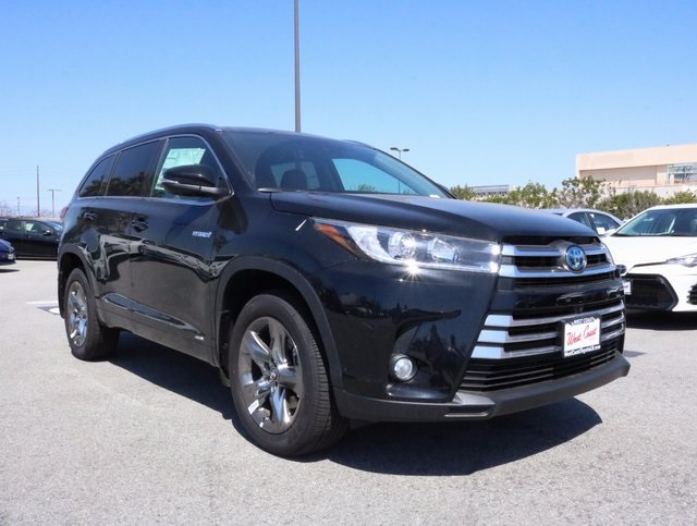 new 2017 toyota highlander hybrid limited platinum 4d sport utility in long beach s022440. Black Bedroom Furniture Sets. Home Design Ideas
