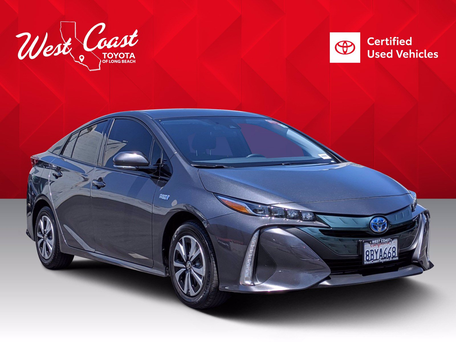 Certified Pre-Owned 2017 Toyota Prius Prime