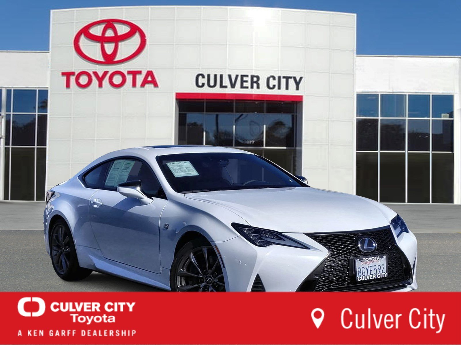 Pre-Owned 2019 Lexus RC RC 350 F SPORT