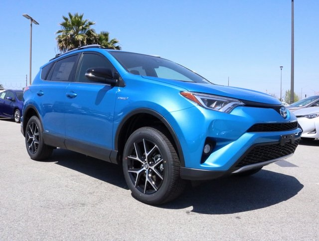 new 2017 toyota rav4 hybrid se 4d sport utility in long beach d113660 west coast toyota. Black Bedroom Furniture Sets. Home Design Ideas