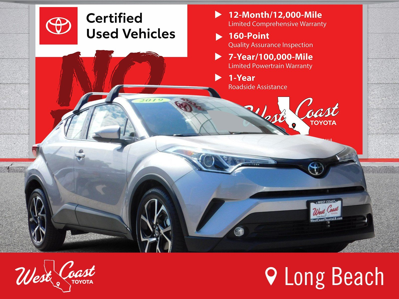 Certified Pre-Owned 2019 Toyota C-HR LTD