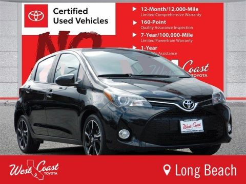Certified Pre-Owned 2015 Toyota Yaris CUS